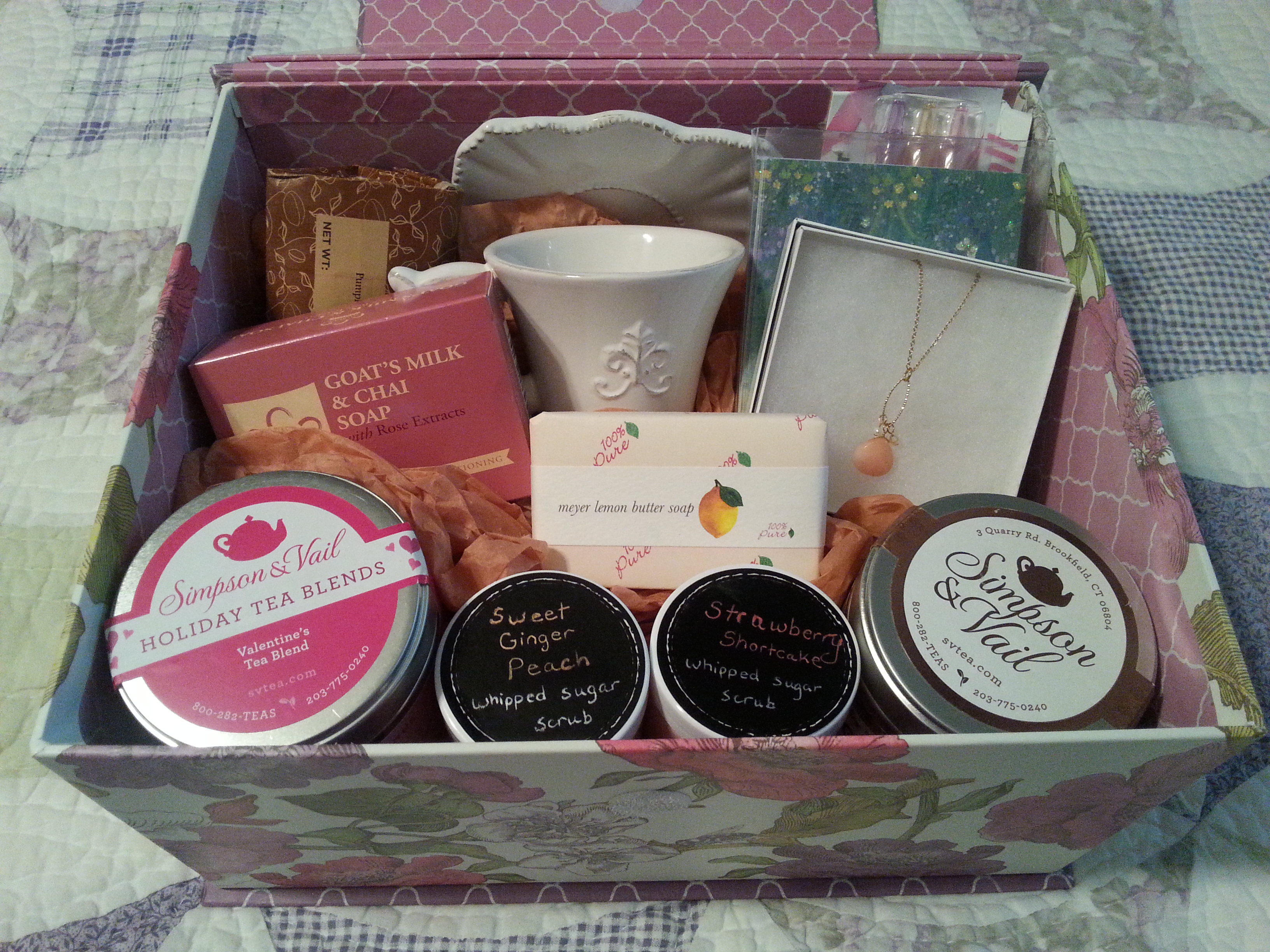 Homemade gift baskets inheriting the promises 20150910113923 negle Gallery